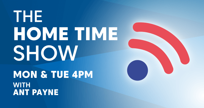 Home time Show. Monday & Tuesday 4pm