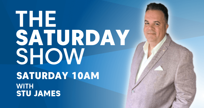 Saturday Show. Saturday 10am