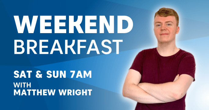 Weekend Breakfast. Sat and Sun 7am